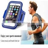 Outdoor and GYM sports adjustable running armband waterproof phone bag case for iPhone 6 iPhone 5S/SE