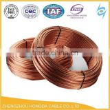 Soft Drawn Bare Copper Stranded Conductor Bare Copper Ground Earth Wire 70sqmm 185sqmm 240sqmm