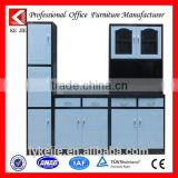 Hot-selling wholesale kitchen cabinet slide door moving free standing stainless steel kitchen cabinet
