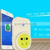 Hot Cellphone Wireless Control Switch Smart Wifi Plug for Air Conditioner/ Lights/Curtain