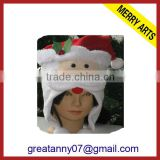 Alibaba website 2015 new design x'mas decoration christmas hats for adults christmas santa claus hats sale