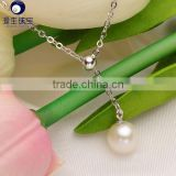fashion new freshwater pearl pendant jewellery for wedding