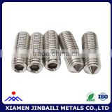 M3 M4 M5 stainless steel tip set screw used in machine set screw                                                                         Quality Choice