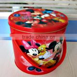 hot sale promotioanl mickey mouse bucket tin can                                                                         Quality Choice