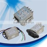 High performance ac socket power line electronic equipment filter with CE RoHS Certification