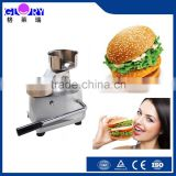 New design manual hamburger patty press forming machine with high efficient and low investment