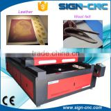 China supplier SIGN 1325 co2 laser engraving and cutting machine for fabric wood acrylic leather foam price