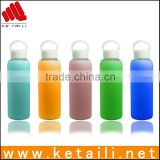 New products wholesales hot water silicone bottle cover, colorful insulated water bottle covers                                                                         Quality Choice