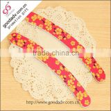2015 latest fashion girl mini nail file / eva nail file / baby nail file