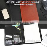 High Quality PU Leather Clip File Portfolio With Calculator & Notepad                                                                         Quality Choice