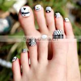 Beauty Sticker GMP Toe Nail Art Foil Stickers Glitter Country Flag Manicure Adhesive Stickers for Toe Nail