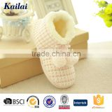 Crochet knitted ladies beautiful indoor soft sole snow boots