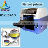 gifts logo printing machine for sell keychain mini logo printer
