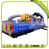 NEVERLAND TOYS Roller Coaster Inflatable Obstacle 10 Meter Outdoor Inflatable Kids Obstacle Inflatable Obstacle Course for Sale