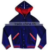 hooded bomber Varsity Jackets/ Custom Wool Varsity jacket