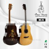 41 inch chinese solid binding acoustic guitar MS-25