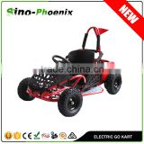 2016 electric Kids go kart 1000w 48V/12ah with double suspension past CE certificate ( PN80GK 1000W )