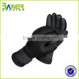 neoprene black american football gloves