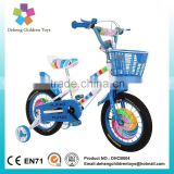2016 new design blue color children bicycle/bike with wide pneumatic tires and steel frames