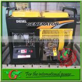 5Kw Permanent magnet diesel generator GBR brand Inverter diesel generator 50Hz 220v for Pure Sine Wave Power