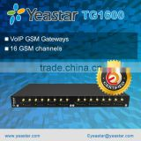 Yeastar TG1600 Asterisk VoIP GSM Gateway with 16 GSM Ports