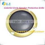 1pcs2/3/4/5/6.5/8/10/12/15 inch Speaker-grille-decorative-circle-protective 1pcs-3-4-5-6-5-8-10-inch-White-net-Speaker-gril