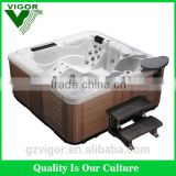 2016 Hot sales JY8011 Family sex massage Acyclic indoor/outdoor hot tub Spa Pool Bathtub