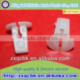 ZX White Automotive small Plastic Clips strap auto glass fastener