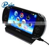 For Sony PS Vita for PS VITA Cradle Black Color Charging Stand Holder for Sony Playstation Vita