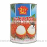 High quality from Thailand rambutan in syrup