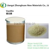 Factory supply Vanillin crystal wholesale with low price CAS No. 121-33-5