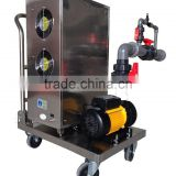 recirculating aquaculture water ozone sterilization system