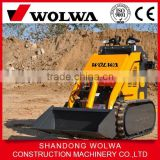rubber track skid steer loader with gasoline engine