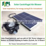 SUNNY Split Type Solar Panel + Battery Powered Ceiling Ventilation Air Exhaust Fan