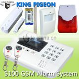 GSM Alarm System with control pad,sensors for your reference