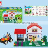 2015 HOT SALES BUILDING BLOCKS TOYS //LEARNING PARADISE 571PCS