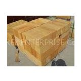 Dense and Low Porosity Fire Clay Brick, High Bulk Density Firebrick Refractory For Glass Kiln, Blast