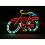 T688 BIKE PUB handicrafted real glass tube neon signs for store display and advertising.