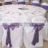 hotel polyester wedding chair cover white polyester banquet table cloth and table linens