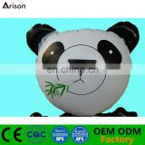 PVC inflatable panda desk bop bag inflatable animal punching bag for kids' tumber toy