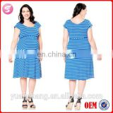 2015 Short Sleeve Fashionable Maternity Wear Dress Clothing Wholesale
