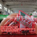 Cheap Price Inflatable Pizza Food Replica, Advertising Pizza Inflatable Cartoon