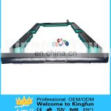 Inflatable football table pool/snooker football