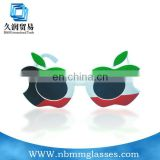 lastest colourful apple design party sunglasses