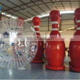 3.5Hm PVC inflatable bowling set/outdoor human bowling for zorb ball/inflatable human bowling
