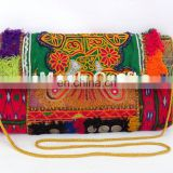 Ethnic Gypsy Banjara Coin Clutch Purse- Vintage Banjara Handmade Afghani Coin Clutch Purse - Antique Banjara Clutch Coin Purse-