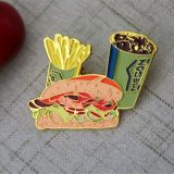 Fast Food Lapel pins