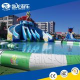 Commercial grade inflatable water slide for kids and adults