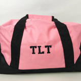bridesmaid duffle bag pink waterproof polyester duffle bag for travel