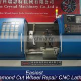 New Design Diamond Cut Alloy Wheel Rim Repair CNC Lathe Machines AWR2840-TA21